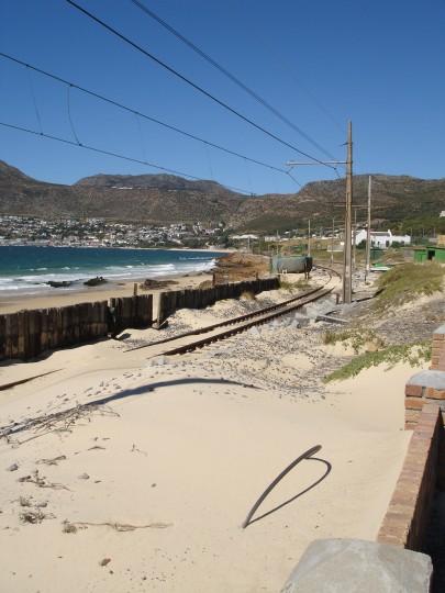 Simon's Town railway repairs