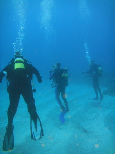 Dive on Two Mile Reef in Sodwana
