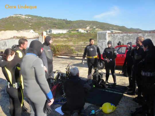 Scuba diving and the art of teaching
