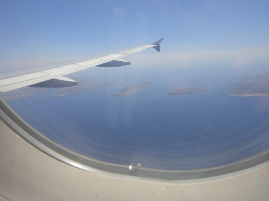 Malta, Comino and Gozo from the air