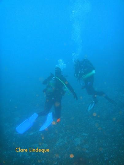 Tony and Gerard on Tafelberg Reef