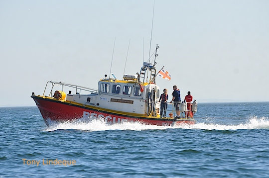NSRI Simon's Town rescue boat Spirit of Safmarine