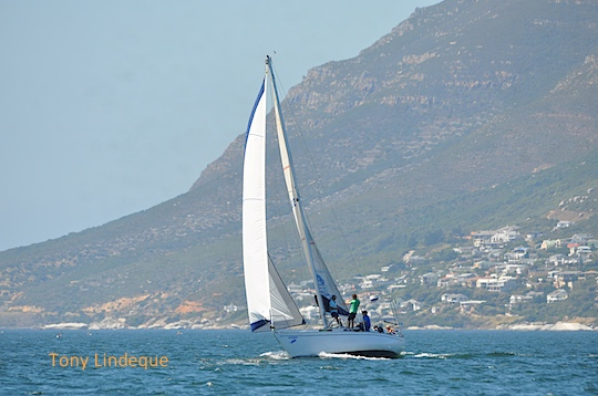 The Governor's Cup yacht race started from Simon's Town