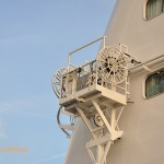 Winch on the side of the ship