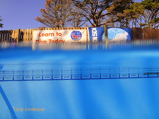 Split shot in the pool