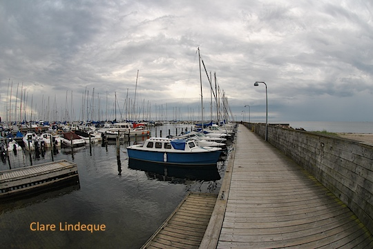 The pleasure boat harbour at Vedbæk