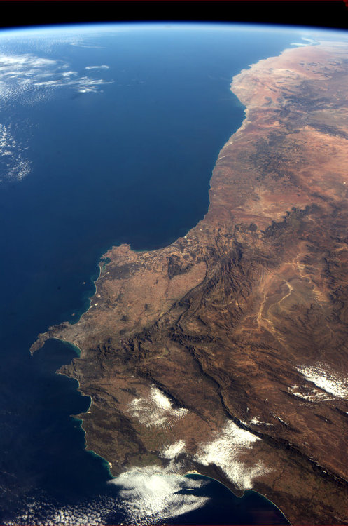 The Western Cape from space