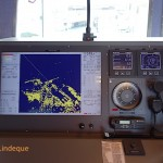 Radar display (in Cape Town harbour)