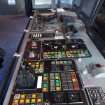 Instrumentation on the bridge