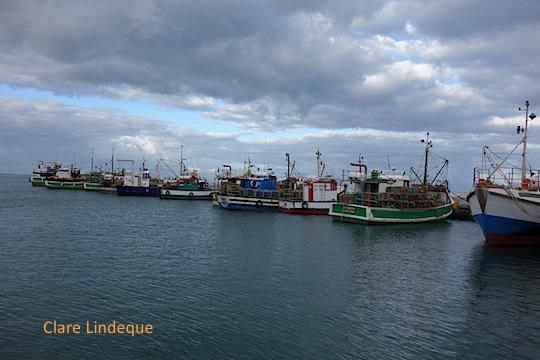 Storm clouds over Kalk Bay