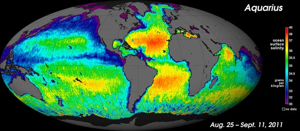 Article: Slate on ocean salinity