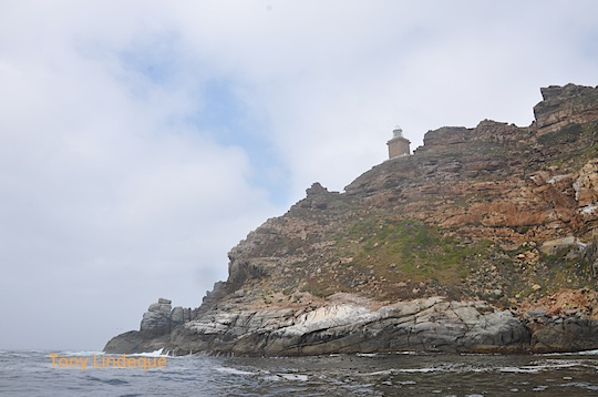 Rounding Cape Point