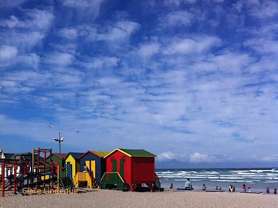 Beach huts at Muizenberg