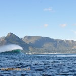 One of the first swells after we arrived