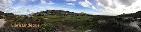 View from Fish Hoek to Kommetjie