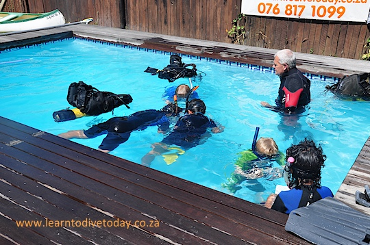 Scuba diving parties for kids
