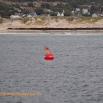 "The big buoy says ""Keep Clear"" so we did!"