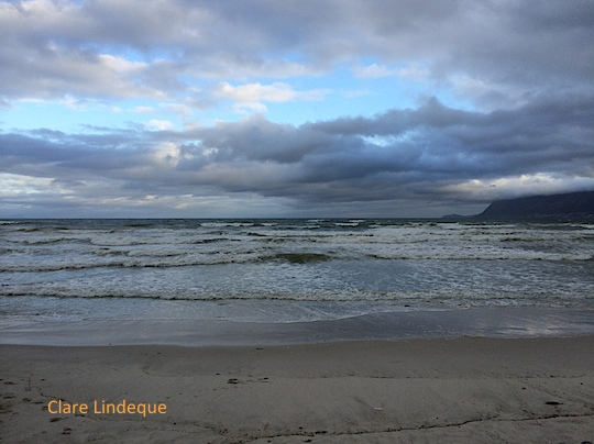 Friday photo: Blue sunset at Muizenberg