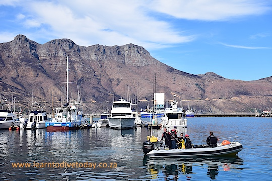 Monday launch in Hout Bay, with burned mountains behind us