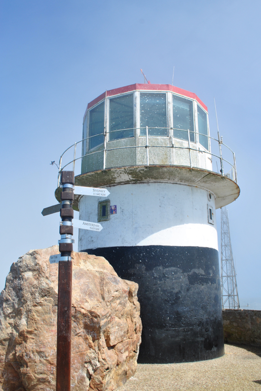 Southern face of the old Cape Point light
