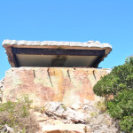The Diaz Point bunker from WWII