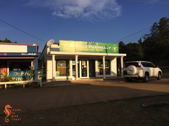 The new(ish) pharmacy at Ponta do Ouro