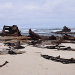 The wreck of the Thomas T Tucker