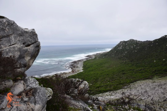 The view from the start of the trail at Gifkommetjie