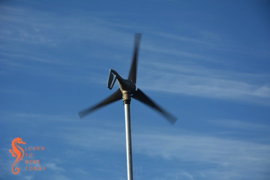 Windy, our home wind generator