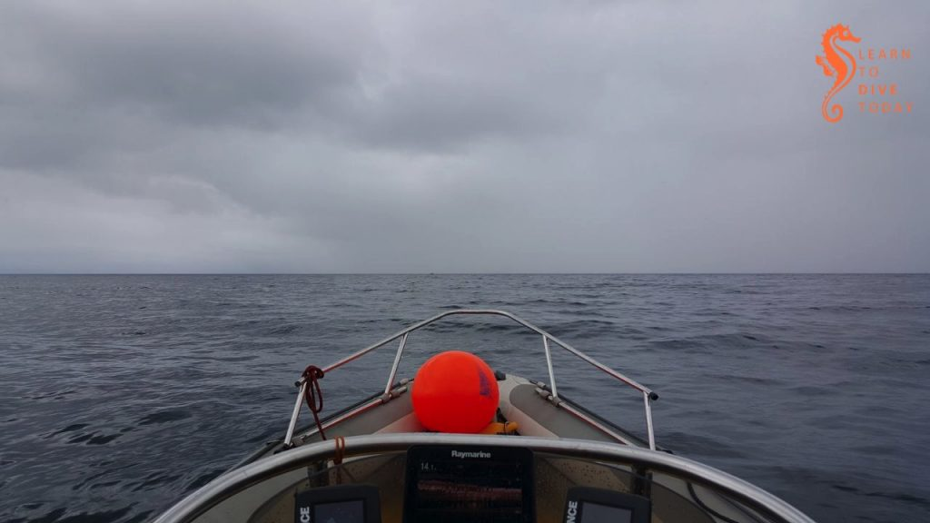 A grey day out on False Bay