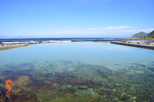 Buffels Bay tidal pool inside the Cape Point section of Table Mountain National Park