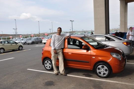 Gerard and his Kia Picanto
