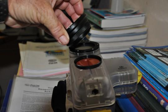 Applying the wide angle lens