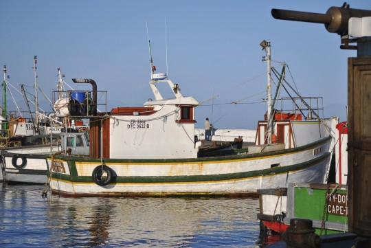 Fishing vessel at Kalk Bay Harbour