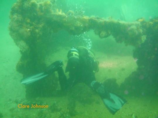 Exploring: Ark Rock Eastern Wreck
