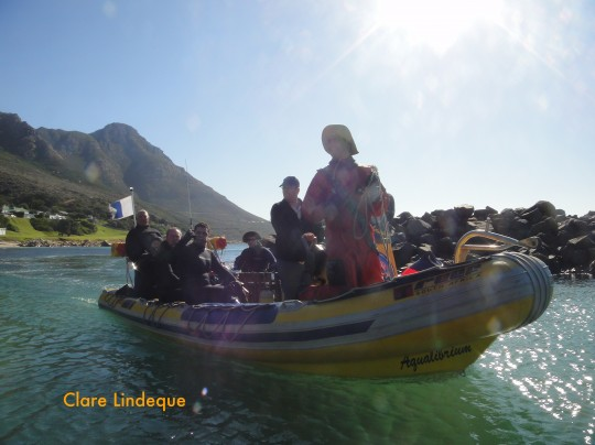 Divemaster Carel on the Dive Action boat