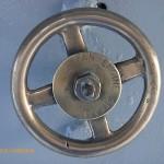 Brass valve handle