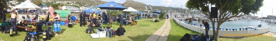 ScubaPro Day 2011 at False Bay Yacht Club