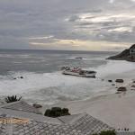 The Eihatsu Maru on Clifton 1st Beach