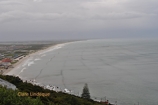 Grey day at Muizenberg