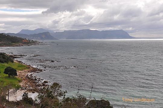 Storm clouds over False Bay