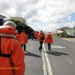 Walking down to Kleinbaai harbour