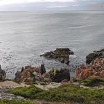 Narrow channels between rocky islands