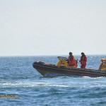 The smaller NSRI rescue boat