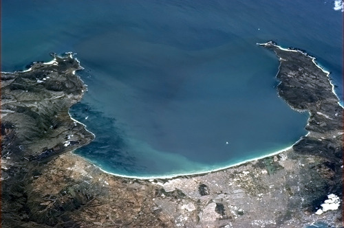 False_Bay from the ISS