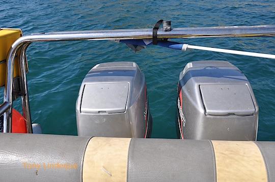 Sea trials of the new motors
