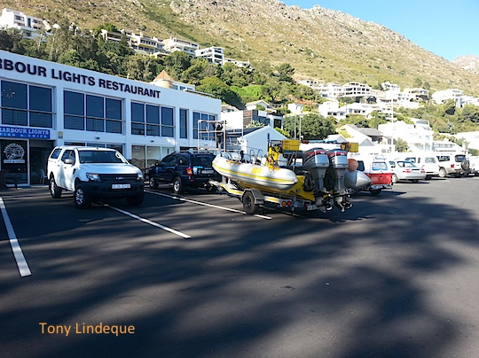 Waiting at Gordon's Bay harbour
