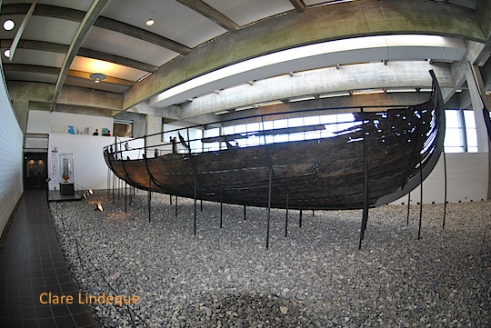 Friday photo: Viking ship in a museum