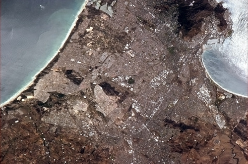 Cape Town from space
