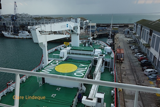 View from the bridge of the SA Agulhas II